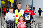 At the CBS, The Green Fun Run on Sunday were Caoileann O'Carroll,  Oran Tobin, Tyrion O'Carroll,  Oisin Tobin