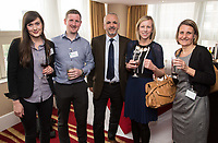 Pictured from left are JoWalchester of Rothera Sharp Solicitors, Colin Aitkenhead of Yorkshire Bank, Peter Askew of T Bailey, Jenny Wing of Nottinghamshire Hospice and Ruth Swain of Actons