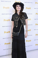 Catherine Malandrino, fashion designer, and the 2010 Pratt Fashion Icon Award winner,  attends the Pratt 2011 fashion show and cocktail reception, honoring Hamish Bowles, April 27 2011.