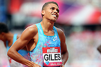 Elliot Giles of Great Britain after competing in the menís 800 metres during the Muller Anniversary Games at The London Stadium on 9th July 2017