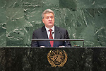 LOS general debate – 27 September<br /> <br /> AM<br /> <br /> His Excellency Gjorge Ivanov, President, the former Yugoslav Republic of Macedonia
