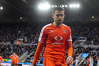 Oliver Lee of Luton Town during Newcastle United vs Luton Town, Emirates FA Cup Football at St. James' Park on 6th January 2018
