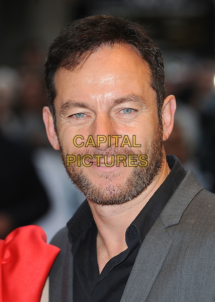 JASON ISAACS .'The Kid'  UK premiere held at the Odeon West End, Leicester Square, London, England, 15th September 2010..portrait headshot beard facial hair black grey gray shirt .CAP/BEL.©Tom Belcher/Capital Pictures.