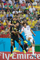 São Paulo, Brazil - June 26, 2014: Belgium defeated South Korea 1-0 at Arena Corinthians Stadium.