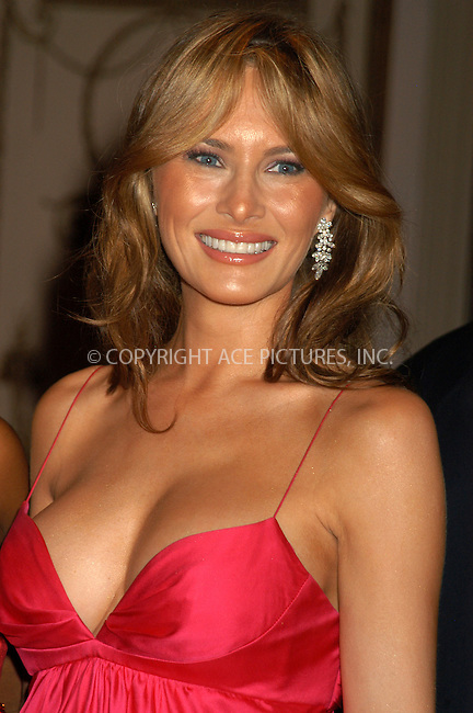 WWW.ACEPIXS.COM . . . . . ....NEW YORK, APRIL 20, 2005....Melania Trump at the Breast Cancer Research Foundation's Annual Red Hot and Pink Party held at the Waldorf Astoria.....Please byline: KRISTIN CALLAHAN - ACE PICTURES.. . . . . . ..Ace Pictures, Inc:  ..Craig Ashby (212) 243-8787..e-mail: picturedesk@acepixs.com..web: http://www.acepixs.com