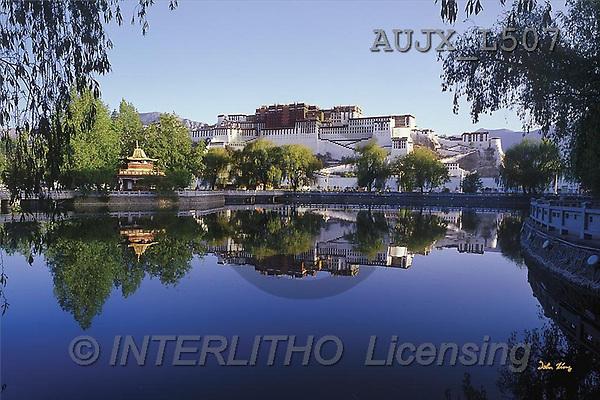 Dr. Xiong, LANDSCAPES, photos, Potala Palace, Morning, Tibet, China(AUJXL507,#L#)