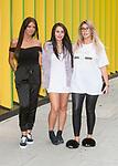 Abbie Holborn, Marnie Simpson, Chloe Ferry at MTV HQ ahead of the premiere of Season 15 of Geordie Shore. London, United Kingdom - Tuesday August 29, 2017