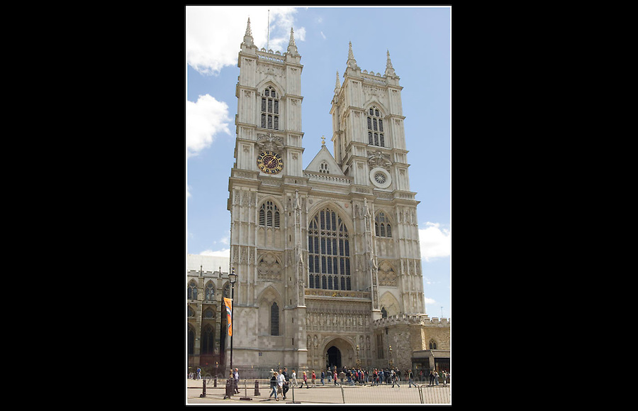 Westminster Abbey - The Collegiate Church of St Peter at Westminster - Built between 1245 - 1745 - 13th June 2005