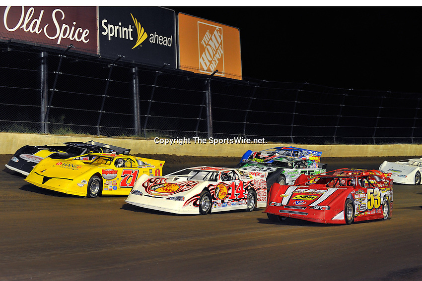 Jun 6, 2009; 10:47:15 PM; Rossburg, OH., USA; The running of the Dream XV  Dirt Late Models at the Eldora Speedway.  Mandatory Credit: (thesportswire.net)