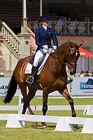 AUS-Sophie Adams (MERCATOR DU RY) 2012 AUS-HSBC Adelaide International 3 Day Event: CCI** DRESSAGE: INTERIM-=1ST (45.90pts)