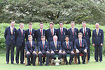 The English Team on the Final Day of the 2012 Boys Home Internationals at Co.Louth Golf Club in Baltray, Co.Louth...(Photo credit should read Jenny Matthews/NEWSFILE)...