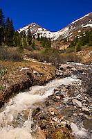 Yankee Boy Basin, above Ouray, Colorado USA