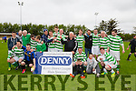 Listowel Celtic winners of the Denny Division 1B League Final against CG Killarney at Mounthawk park on Sunday