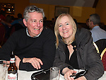 John and Siobhan Byrne at the MS fundraiserin the Valley Inn. Photo:Colin Bell/pressphotos.ie