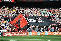 D.C. United fans. The Columbus Crew defeated D.C. United 2-1 ,at RFK Stadium, Saturday March 23,2013.