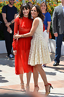 Stacy Martin &amp; Berenice Bejo at the photocall for &quot;The Formidable&quot; (Le Redoutable) at the 70th Festival de Cannes, Cannes, France. 21 May 2017<br /> Picture: Paul Smith/Featureflash/SilverHub 0208 004 5359 sales@silverhubmedia.com