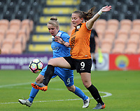 during London Bees vs Sheffield FC Ladies, FA Women's Super League FA WSL2 Football at the Hive Stadium on 12th May 2018