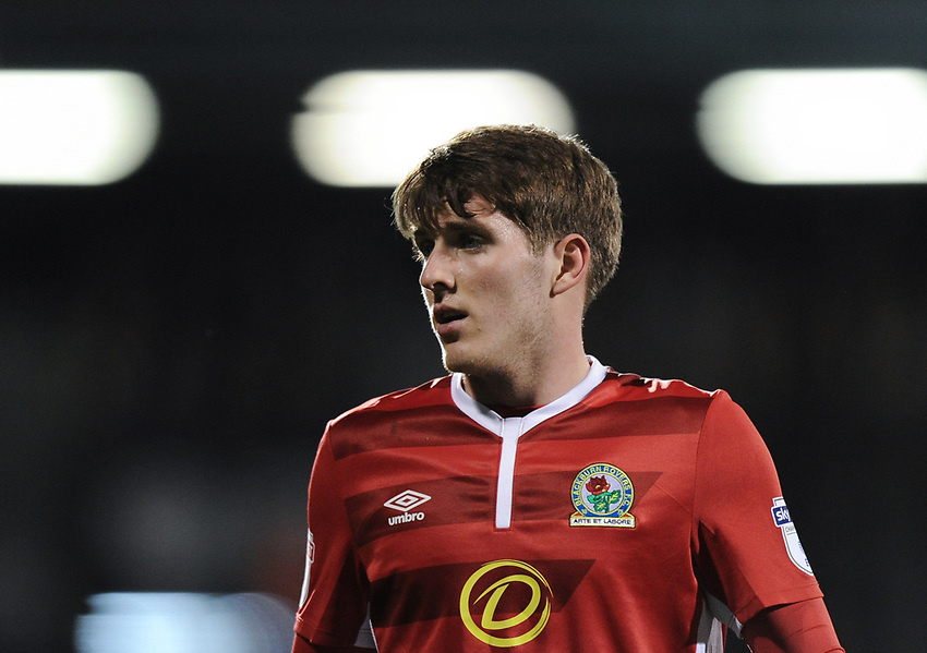 Blackburn Rovers' Connor Mahoney<br /> <br /> Photographer /Ashley WesternCameraSport<br /> <br /> The EFL Sky Bet Championship - Fulham v Blackburn Rovers - Tuesday 14th March 2017 - Craven Cottage - London<br /> <br /> World Copyright &copy; 2017 CameraSport. All rights reserved. 43 Linden Ave. Countesthorpe. Leicester. England. LE8 5PG - Tel: +44 (0) 116 277 4147 - admin@camerasport.com - www.camerasport.com