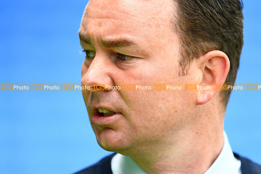 Plymouth Argyle Manager Derek Adams during Portsmouth vs Plymouth Argyle, Sky Bet EFL League 2 Football at Fratton Park on 14th April 2017