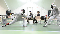 Fencing at Vasser College 1/18/2015