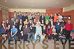 BIRTHDAY: Many friends and family attended Ian Donegan (seated 5th from left) Causeway as he celebrated his 21st Birthhday in the White Sands Hotel, ballyheigue.................................. ....
