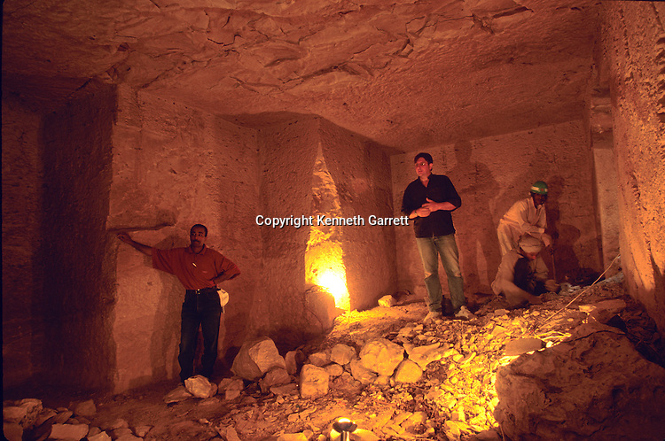 Egypt, Valley of the Kings, Nicholas Reeves, KV57, tomb, Archaeologist