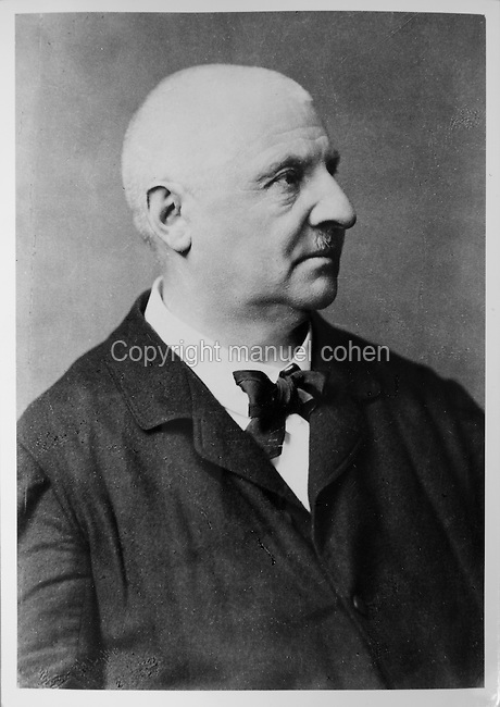 Portrait of Anton Bruckner, 1824-96, Austrian composer, late 19th century photograph. Copyright © Collection Particuliere Tropmi / Manuel Cohen