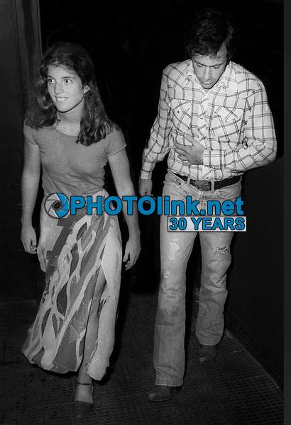 Caroline Kennedy and Tom Carney 1977<br /> Photo By Adam Scull/PHOTOlink.net