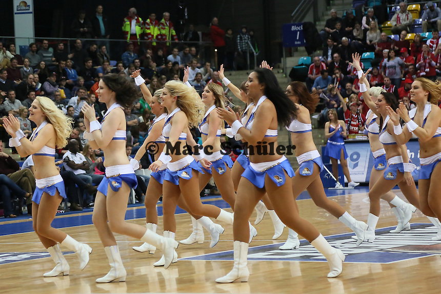 Fraport Skyliners Dance Team - Fraport Skyliners vs. Brose Baskets Bamberg, Fraport Arena Frankfurt