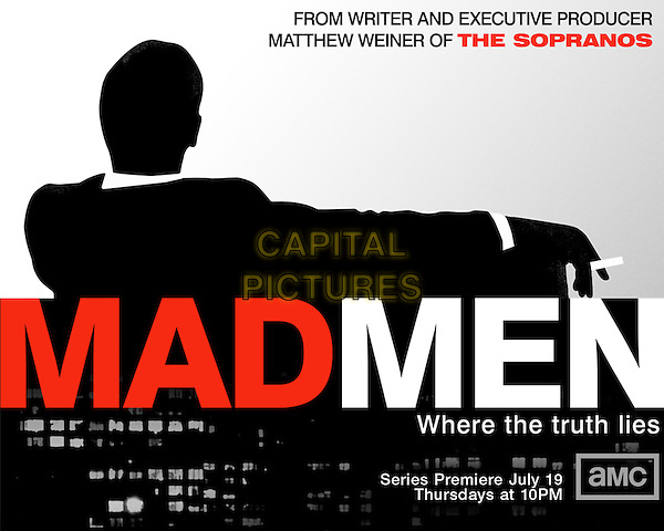 POSTER ART<br /> in Mad Men (Season 1)<br /> *Filmstill - Editorial Use Only*<br /> CAP/FB<br /> Image supplied by Capital Pictures