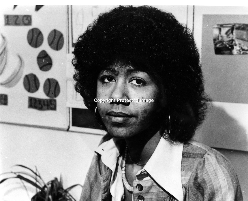 Black Panther supporter Ericka Huggins.<br />