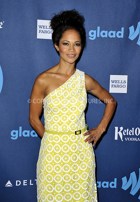 WWW.ACEPIXS.COM......April 20, 2013, Los Angeles, CA.....Sherri Saum arriving at the 24th Annual GLAAD Media Awards held at the JW Marriott Los Angeles at L.A. LIVE on April 20, 2013 in Los Angeles, California. ..........By Line: Peter West/ACE Pictures....ACE Pictures, Inc..Tel: 646 769 0430..Email: info@acepixs.com