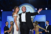United States President Donald Trump and First Lady Melania Trump dance at the Freedom Ball on January 20, 2017 in Washington, D.C. Trump will attend a series of balls to cap his Inauguration day.   Photo by Kevin Dietsch/UPI    <br /> Credit: Kevin Dietsch / Pool via CNP