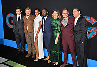 Jason Bateman, Jesse Plemons, Kylie Bunbury, Lamorne Morris, Sharon Horgan, Billy Magnussen &amp; Kyle Chandler at the premiere for &quot;Game Night&quot; at the TCL Chinese Theatre, Los Angeles, USA 21 Feb. 2018<br /> Picture: Paul Smith/Featureflash/SilverHub 0208 004 5359 sales@silverhubmedia.com