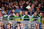 Kerry players before the Munster Final at Fitzgerald Stadium, Killarney on Saturday evening.