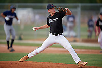 Cameron Sorge (7) during the WWBA World Championship at the Roger Dean Complex on October 12, 2019 in Jupiter, Florida.  Cameron Sorge attends Jupiter High School in Jupiter, FL and is committed to Rollins College.  (Mike Janes/Four Seam Images)