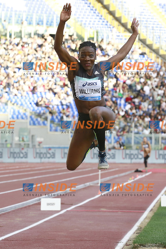 Kimberly Williams JAM   <br /> Roma 02-06-2016 Stadio Olimpico.<br /> IAAF Diamond League 2016<br /> Atletica Legera <br /> Golden Gala Meeting - Track and Field Athletics Meeting<br /> Foto Cesare Purini / Insidefoto