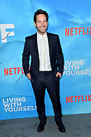 "LOS ANGELES, USA. October 17, 2019: Paul Rudd at the premiere of ""Living With Yourself"" at the Arclight Theatre, Hollywood.<br /> Picture: Paul Smith/Featureflash"