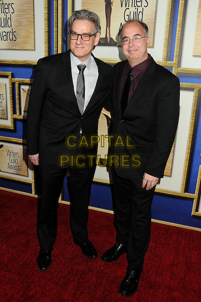 1 February 2014 - Los Angeles, California - Peter Gould, Thomas Schnauz. 2014 Writers Guild Awards West Coast held at the JW Marriott Hotel.  <br /> CAP/ADM/BP<br /> &copy;Byron Purvis/AdMedia/Capital Pictures