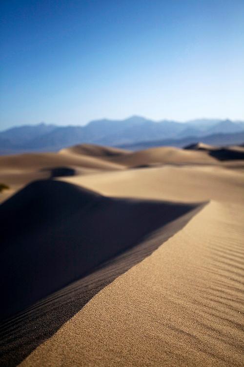 Death Valley sand dunes © Carli Davidson