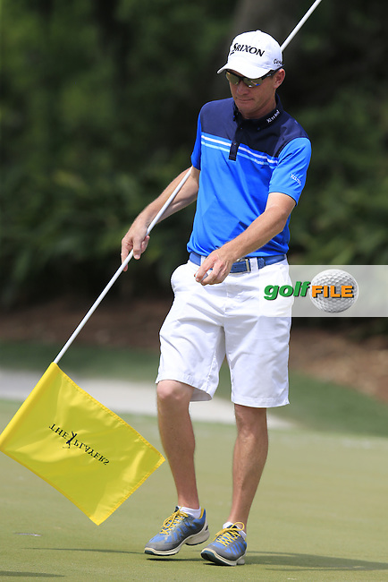 Caddy Dermot Byrne during practice for the Players, TPC Sawgrass, Championship Way, Ponte Vedra Beach, FL 32082, USA. 11/05/2016.<br /> Picture: Golffile | Fran Caffrey<br /> <br /> <br /> All photo usage must carry mandatory copyright credit (&copy; Golffile | Fran Caffrey)