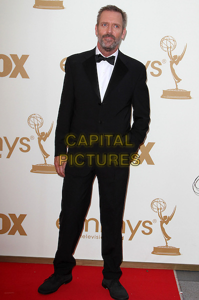 Hugh Laurie.63rd Primetime Emmy Awards - Arrivals Held at The Nokia LA Live, Los Angeles, California, USA..September 18th, 2011.emmys full length white bow tie black tuxedo beard facial hair .CAP/ADM/KB.©Kevan Brooks/AdMedia/Capital Pictures.