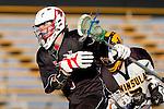 Palos Verdes, CA 03/30/10 - Scott MacDonald (Palos Verdes #6) in action during the Palos Verdes-Peninsula JV Boys Lacrosse game.