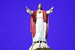 GIGANTIC STATUE of JESUS ATOP HILL (2)