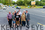 Cllr John Sheahan campaigning for reducing the speed from 100km/h to 60 km/h on the main Killarney- Killorglin road at the Beaufort Bridge junction. Pictured with l-r Owen Cremin, MaryColeman, Ian Coleman Horgan and Jill King, back l-r Tomas O'Sullivan, Meabh Coleman Horgan, Maurice McSweeney and Jimmy Coffey.