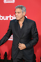 "LOS ANGELES - OCT 22:  George Clooney at the ""Suburbicon"" Premiere at the Village Theater on October 22, 2017 in Westwood, CA"