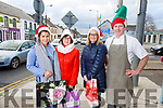 Christmas in Abbeyfeale. <br /> L to r: Rebecca and Eileen Stryker (Marelles), Kathleen O'Keeffe (Trendy Locks Hair Salon) and Toddy McMahon (Butchers)