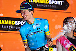 Pello Bilbao (ESP) Astana Pro Team wins Stage 20 of the 2019 Giro d'Italia, running 194km from Feltre to Croce d'Aune-Monte Avena, Italy. 1st June 2019<br /> Picture: Massimo Paolone/LaPresse | Cyclefile<br /> <br /> All photos usage must carry mandatory copyright credit (© Cyclefile | Massimo Paolone/LaPresse)