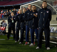 USA Men's National Team loses to  Paraguay 1-0 during an international friendly, Tuesday, March 29, 2011, at LP Field Nashville, Tenn. .   .