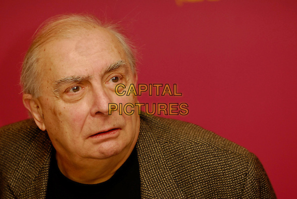 "CLAUDE CHABROL.Photocall for ""Comedy of Power"" at the 56th Berlin (Berlinale) Film Festival, Berlin, Germany..February 16th, 2006.Ref: KRA.headshot portrait.www.capitalpictures.com.sales@capitalpictures.com.©Capital Pictures"